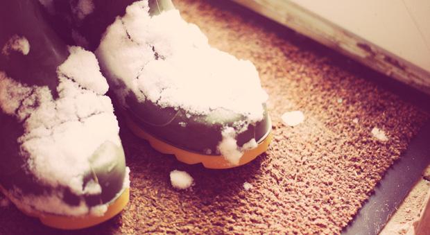 snowing shoes