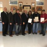 VFW Post honors Dr. Brook with certificate
