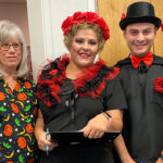 COUNTRY FOOT CARE staff dressed up in halloween costumes