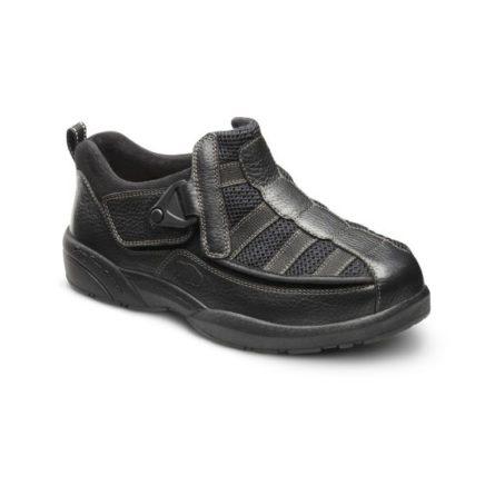 Edward X black shoe