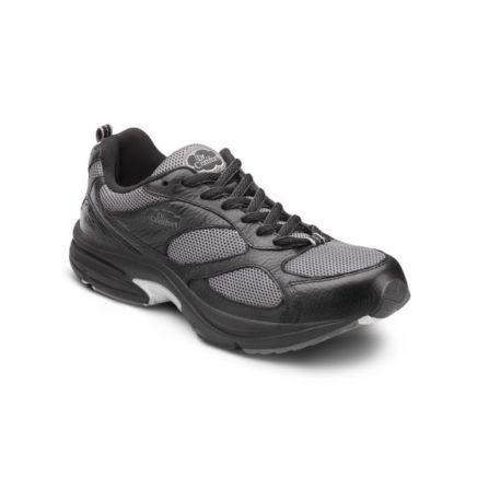 Endurance plus black sneaker