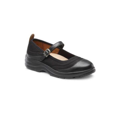 Flute black shoe