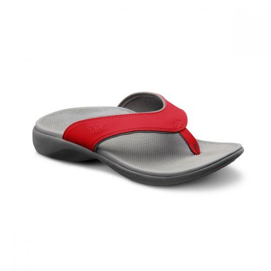 Shannon red sandal
