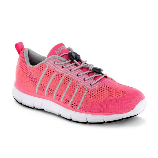 apex breeze athletic knit pink