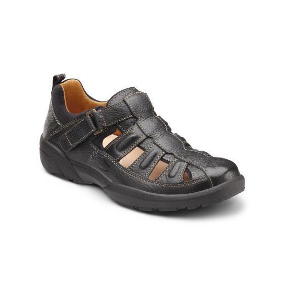 fisherman black shoe