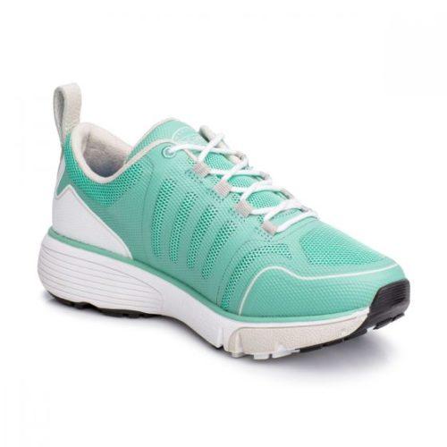 grace seafoam green sneaker
