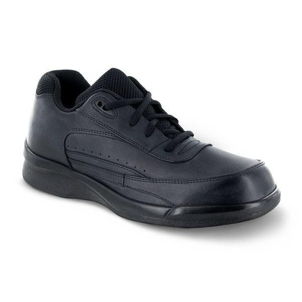 mens apex active lace walker black sneaker