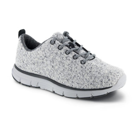 mens apex natural knit light grey sneaker