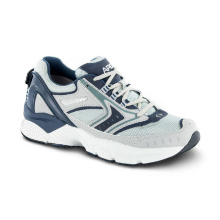 mens apex rhino runner blue sneaker