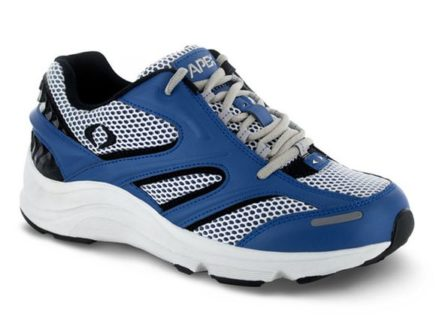 mens apex stealth runner blue sneaker