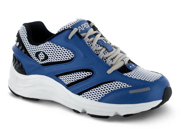 mens apex stealth runner blue sneaker