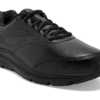 mens brooks addiction walker 2 black sneaker