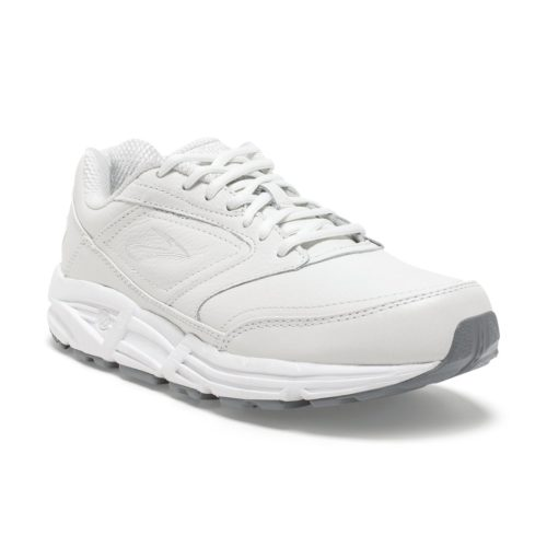 mens brooks addiction walker 2 white sneaker