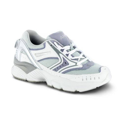 womens apex reina runner periwinkle sneaker